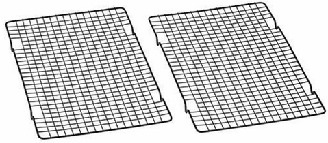 Post image for Amazon-Baker's Secret 10-by-16-Inch Nonstick Cooling Rack, Set of 2 Only $5.31