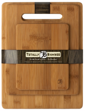 Post image for Amazon-Totally Bamboo 3-Piece Cutting Board Set $9.99