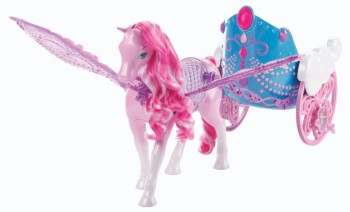 Post image for Barbie:The Fairy Princess Pegasus and Flying Chariot Set-$13.99