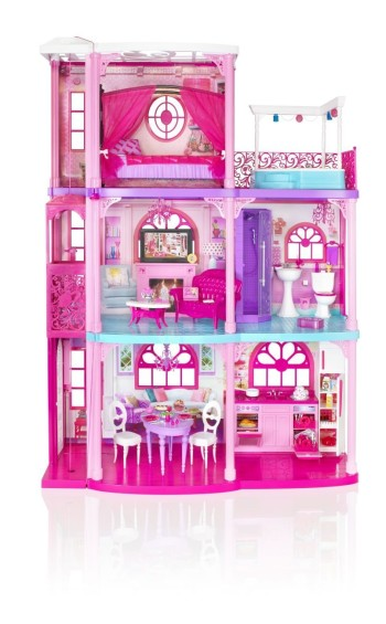 Post image for *HOT* *HOT*Barbie 3-Story Dream Townhouse-$81.49