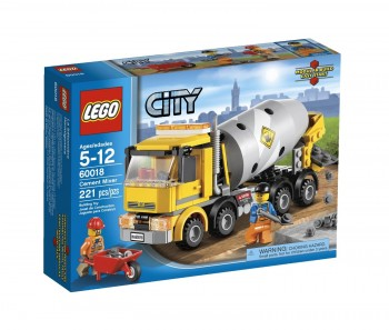 Post image for Amazon-LEGO City Cement Mixer Only $14.99