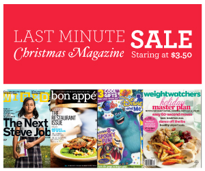 Post image for HUGE Last Minute Christmas Magazine Sale