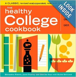 Post image for The Healthy College Cookbook-$12.65