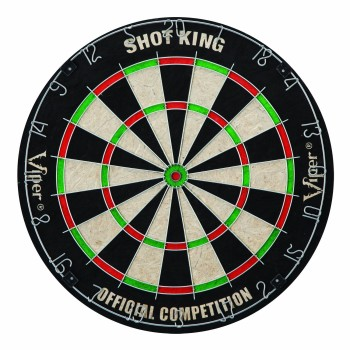 Post image for Viper Shot King Sisal Fiber Bristle Dartboard-$21.79