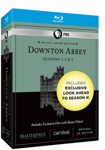 Post image for Amazon: Downton Abbey Seasons 1-3 BluRay – just $41.49 shipped!