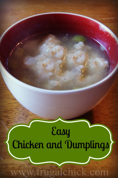 Post image for Easy Chicken and Dumplings