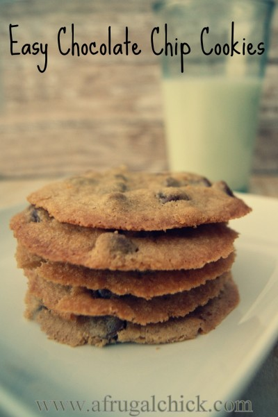 Post image for Easy Chocolate Chip Cookie Recipe
