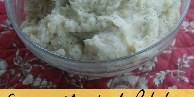 Easy Mashed Potatoes and Parsnips