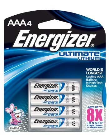 Post image for High Value Coupon: $3.00 off Energizer Ultimate Lithium Batteries