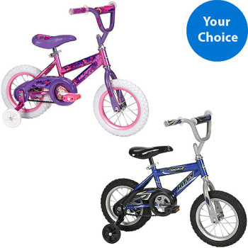 Post image for 12″ Huffy Girl or Boy Bike $29.00