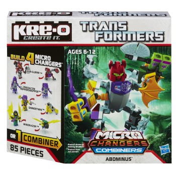 Post image for KRE-O Transformers Micro-Changers Combiners Abominus Construction Set-$3.99