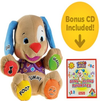 Post image for Amazon: Fisher-Price Laugh & Learn Love to Play Puppy with Bonus CD $11.99