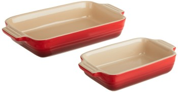 Post image for Amazon-Le Creuset 1-1/4-Quart Rectangular Bakers with Bonus Baker $39.95