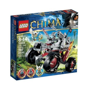 Post image for Amazon: LEGO Chima Wakz Pack Tracker 70004 $19.99