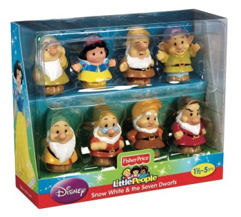 Post image for Fisher-Price Little People: Snow White and The Seven Dwarfs-$11.24