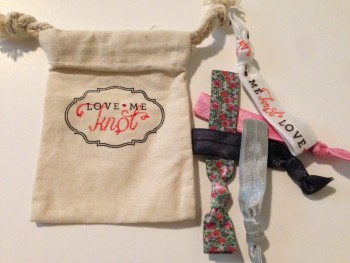Post image for Love Me Knot TOP KNOT Elastic Hair Ties-$5