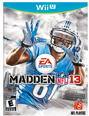 Post image for Amazon-Madden NFL 13 – Nintendo Wii U $9.99