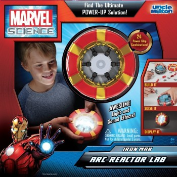 Post image for Uncle Milton Marvel Science, Iron Man Arc Reactor Lab-$10