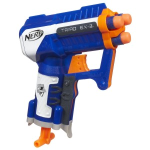 Post image for Amazon-Nerf N-Strike Elite Triad EX-3 Blaster Just $4.79