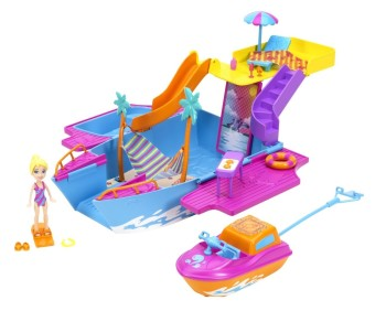 Post image for Polly Pocket Tropical Party Yacht-$9.99