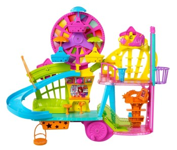 Post image for Polly Pocket: Mall on The Wall Fashion Doll Playset-$29.99