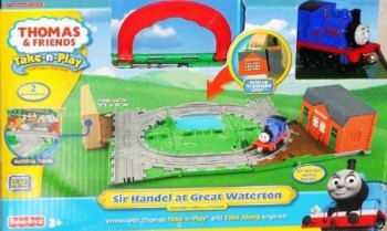 Post image for Thomas & Friends Take-n-play Sir Handel At Great Waterton-$9.99