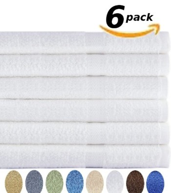Post image for 6 Pack Cotton Bath Towels-$29.99