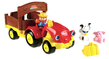 Post image for Amazon-Fisher-Price Little People Tow 'n Pull Tractor $11.24