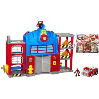 Post image for Transformers Rescue Bots Playskool Heroes Fire Station Prime-$14.99