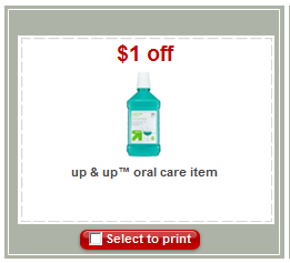 Post image for Target: Free Up & Up Floss