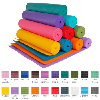 Post image for 1/4″ Extra Thick Deluxe Yoga Mat-$20.95