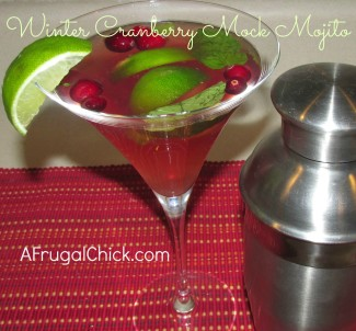 Post image for Cranberry Mojito Drink Recipe