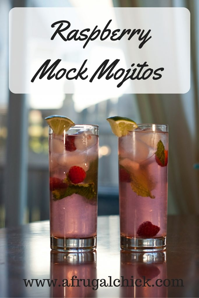 Raspberry Mock Mojito Recipe