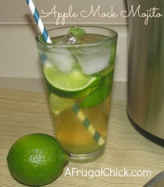 Post image for Apple Mojito Recipe (Non-Alcoholic)