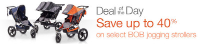 Post image for Amazon: 40% on Select BOB Jogging Strollers