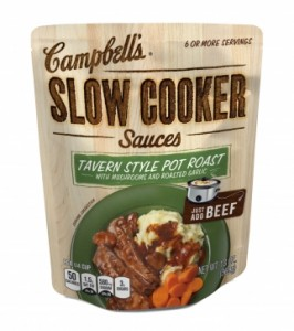 Post image for Campbell's Slow Cooker Sauces $.23 At Walmart