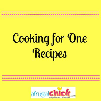 Post image for Cooking For One Blog