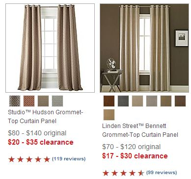 jcpenney curtains
