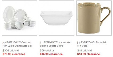 jcpenney dishes