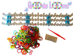 Post image for Amazon-GOODIE LOOMS- Colorful Rainbow Loom Band Kit $6.57