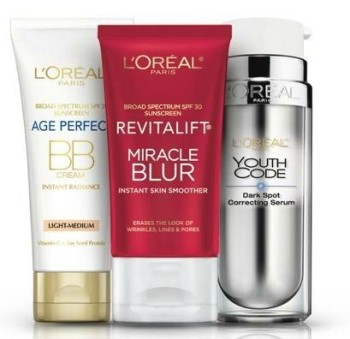 Post image for Loreal Paris Rebate – $10 Back With $30 Purchase