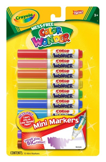 Post image for Amazon-Crayola Color Wonder 10 Mini Markers $1.48