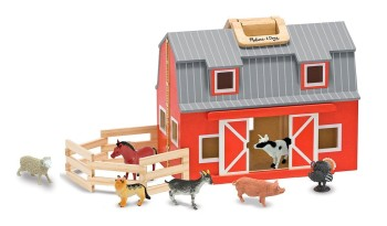 Post image for Melissa & Doug Fold and Go Mini Barn $24.99 (Record Low Price)