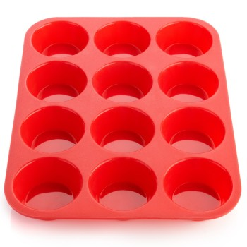 Post image for Amazon-OvenArt Silicone Bakeware -12 Cup Muffin Pan $16.41