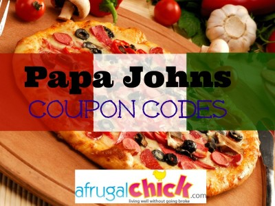 Post image for Papa Johns Coupon Codes