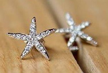 Post image for Amazon-Starfish Earrings, Faux Diamond Embellished Earrings Only $1.07