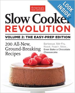 Post image for Amazon-Slow Cooker Revolution Volume 2 Just $15.63
