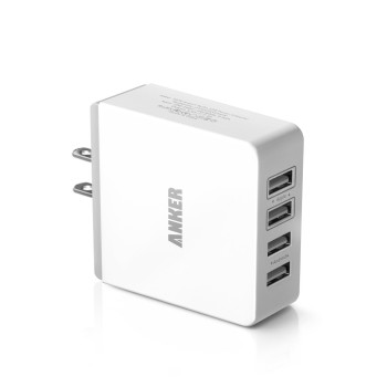 Post image for Amazon- Quad-Port Compact USB Wall Charger $22.99