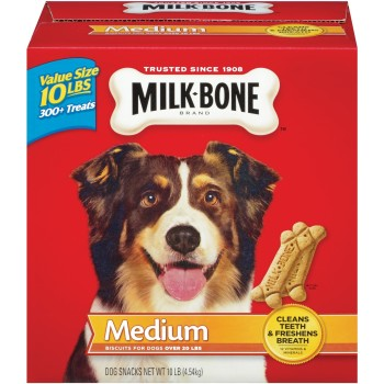 Post image for 10 lb. Box of Milk Bone Original Dog Biscuits $11.00