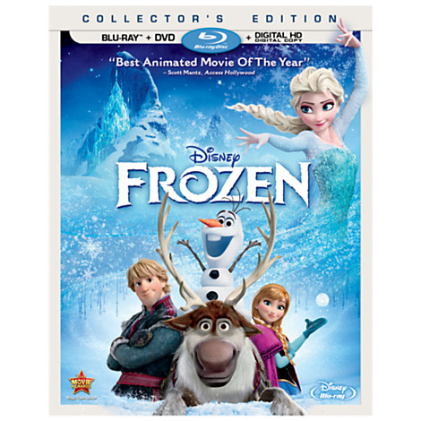 Post image for Frozen (Two-Disc Blu-ray / DVD + Digital Copy) (2013) $13.00